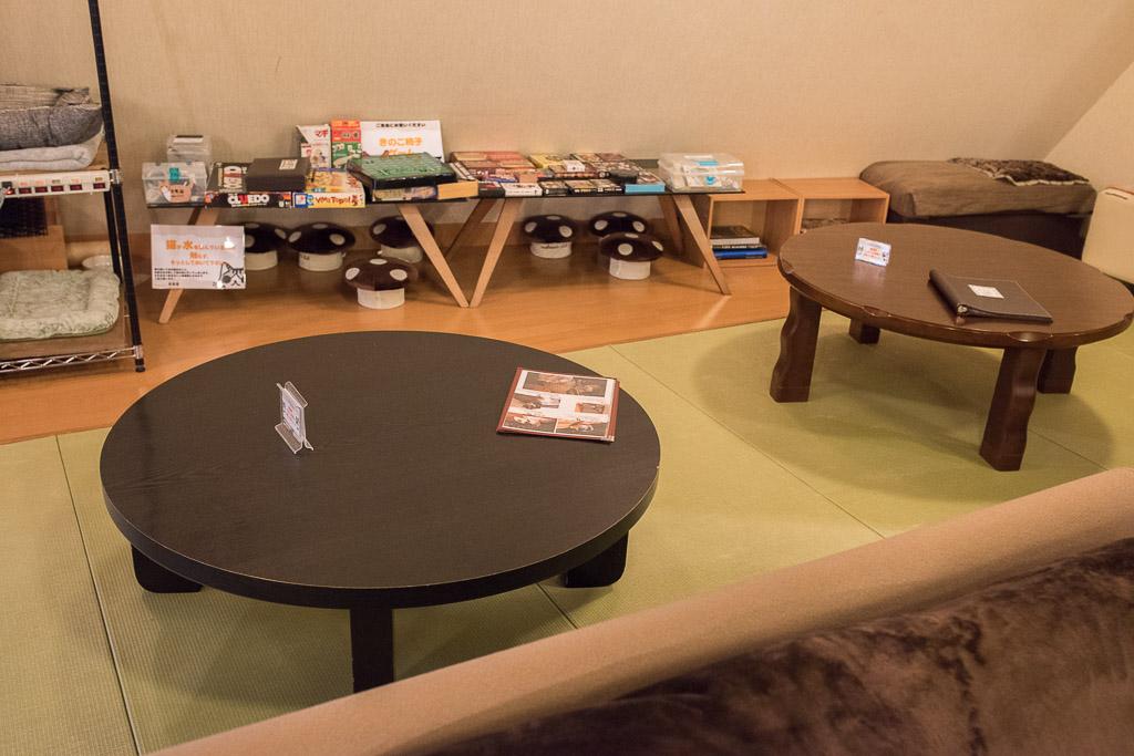猫カフェ・猫の居る休憩所299の和室エリア