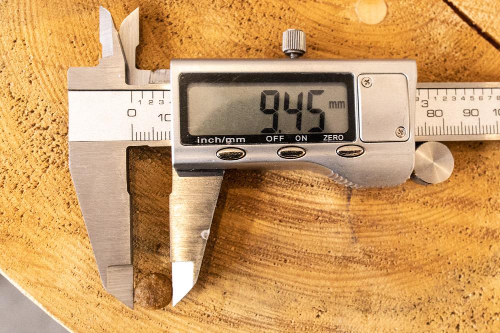 ロイヤルカナン アロマエクシジェントの長さ測定