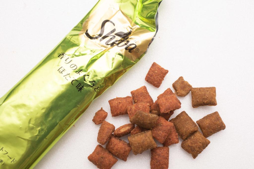 シーバDUO香りのまぐろ味セレクションのまぐろ・ほたて味の粒