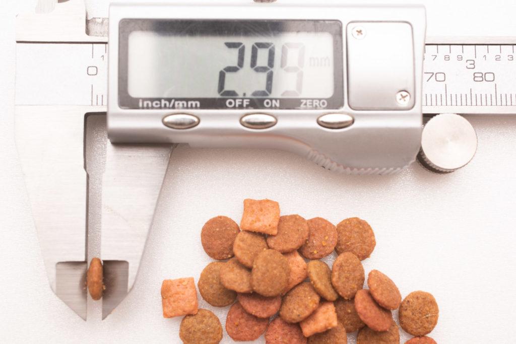 まぐろ・たい味の厚み測定