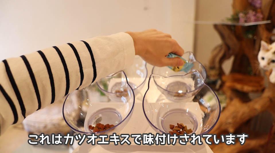 シーバDUO魚介とお肉のチーズ味セレクションはカツオエキスも使用されている