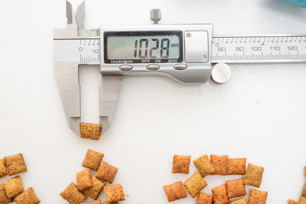 シーバDUO贅沢お魚味グルメセレクションの長さ計測